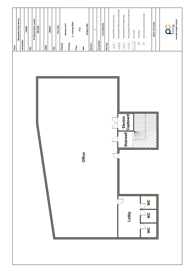 Floorplan for Kenway Road, London